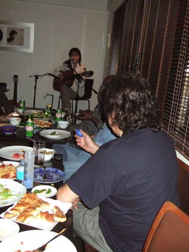 2008-10-02  トニーニョ歓迎会@渋谷・Barquinho