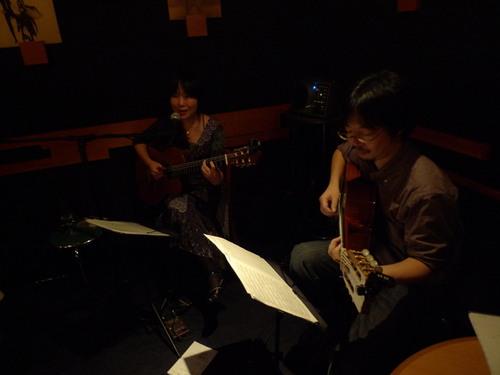 2010.10.23.@新橋villagewood with 山崎岳一さん